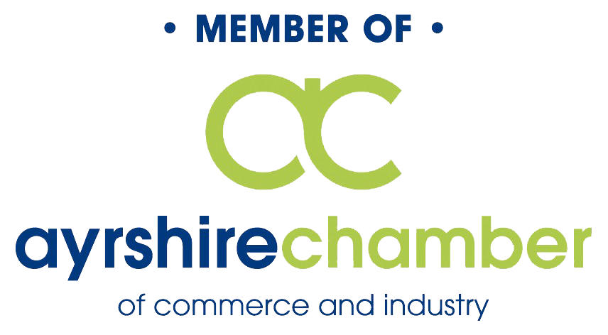 Member of Ayrshire Chamber of Commerce and Industry
